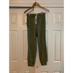 Forever 21 Light Green Drawstring Sweatpants